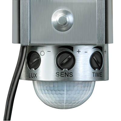 Projecteur solaire puissant 350 lumens aluminium for Eclairage exterieur solaire puissant