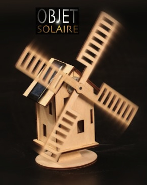 Moulin solaire hollandais sur le site internet objetsolaire - Moulin a vent decoratif ...