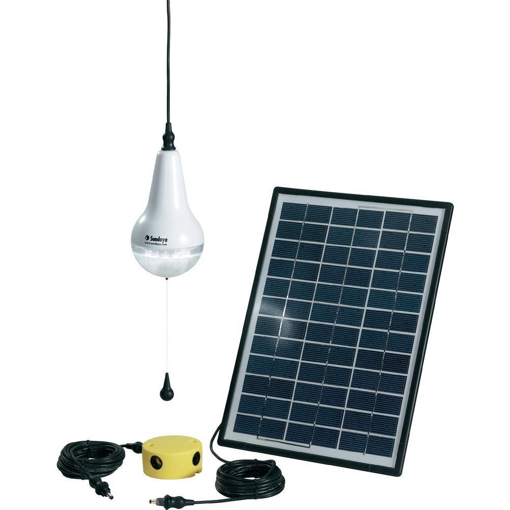 kit eclairage solaire 1 lampe ulitium kit eclairage. Black Bedroom Furniture Sets. Home Design Ideas