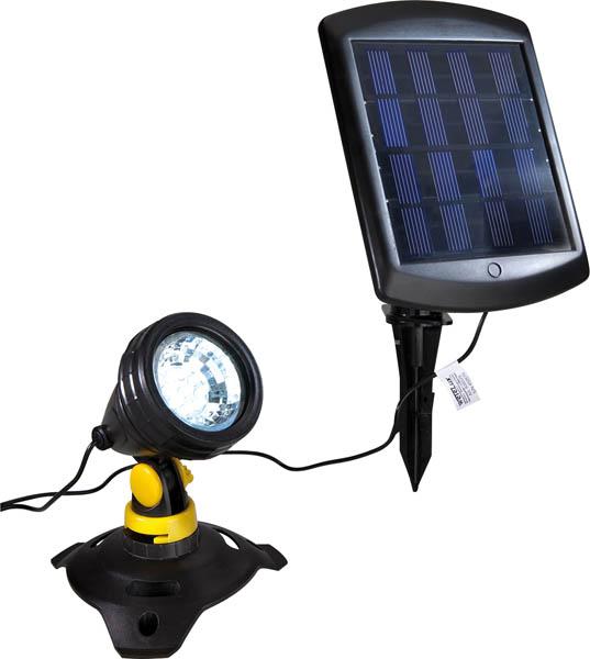 Spot solaire submersible 300 lumens tanche ip68 for Lampe exterieur etanche