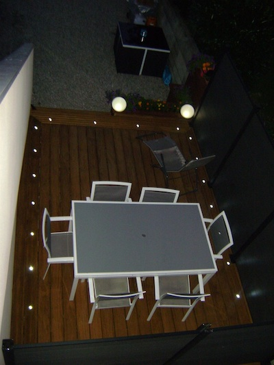 Spots solaires encastrables los rios eclairage spot for Eclairage terrasse led