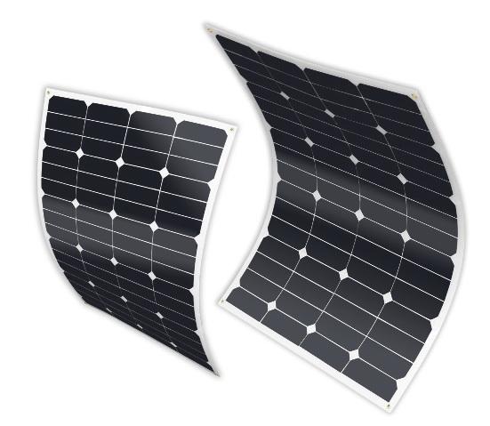 panneau solaire sunpower souple 50w 12 v panneau solaire. Black Bedroom Furniture Sets. Home Design Ideas