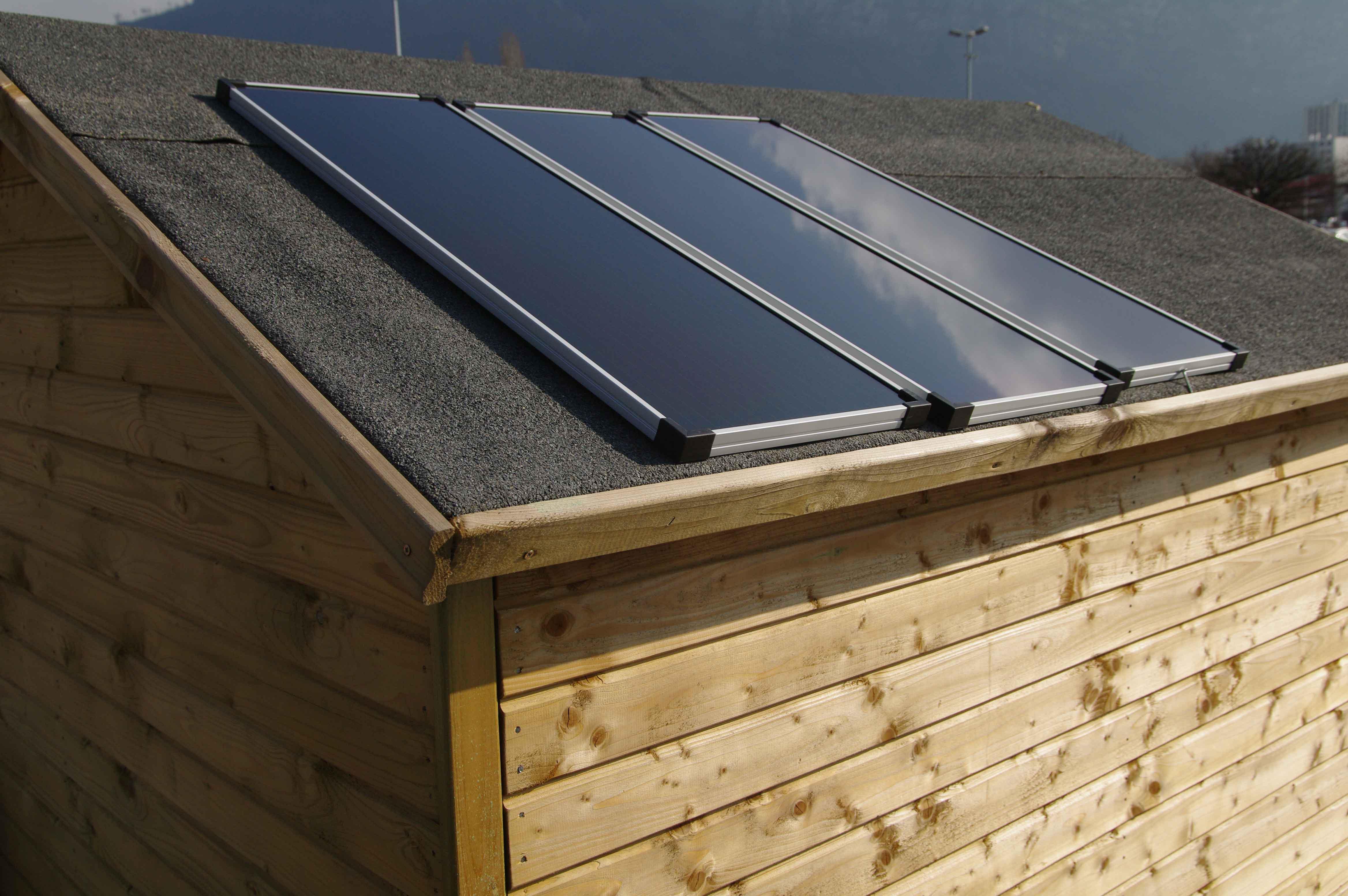 kit solaire complet 45w site isol watt et home sur le. Black Bedroom Furniture Sets. Home Design Ideas