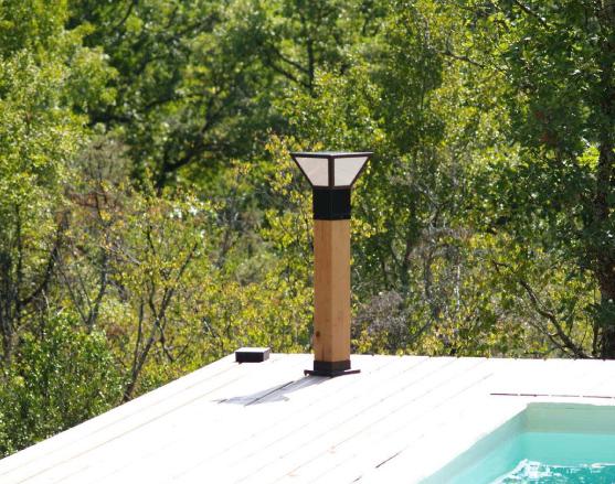 borne solaire puissante gariotte eclairage solaire puissant objetsolaire. Black Bedroom Furniture Sets. Home Design Ideas
