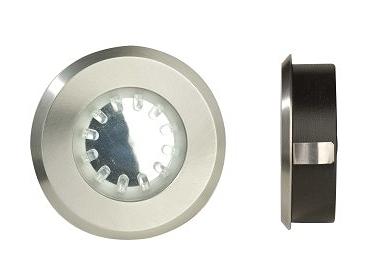 Spot ext rieur encastrable basse tension 12 v led atlas - Eclairage exterieur basse tension ...