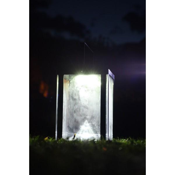 Lanterne photophore d 39 clairage solaire eclairage solaire for Eclairage interieur solaire