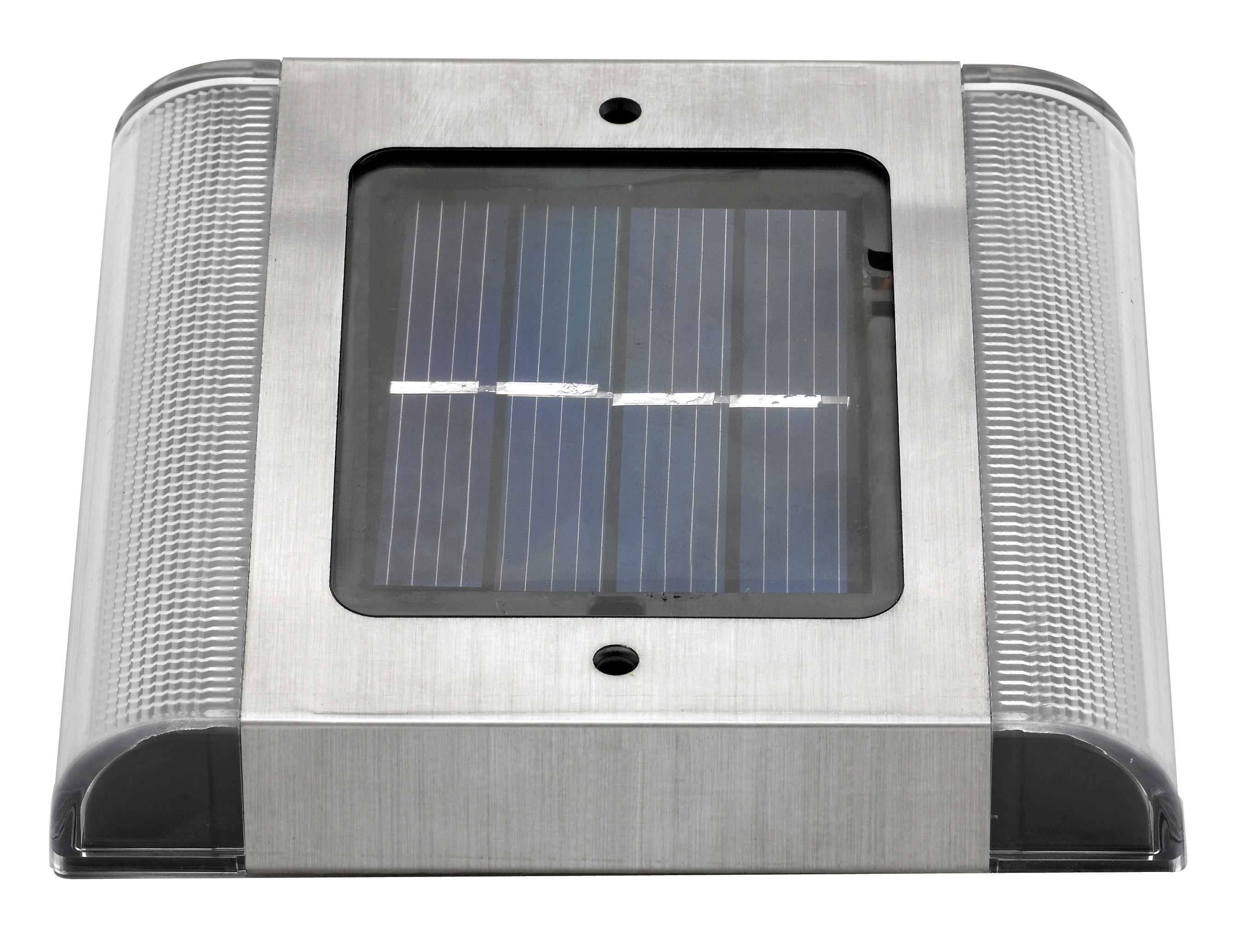 Spot pav solaire encastrable surface sol 2 led eclairage solaire encastrable objetsolaire - Spot solaire encastrable ...