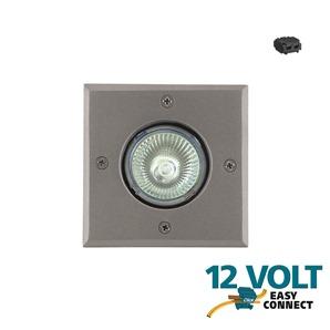 spot encastrable led inox 12v easy connect bourk 3w eclairage basse tension 12v objetsolaire. Black Bedroom Furniture Sets. Home Design Ideas