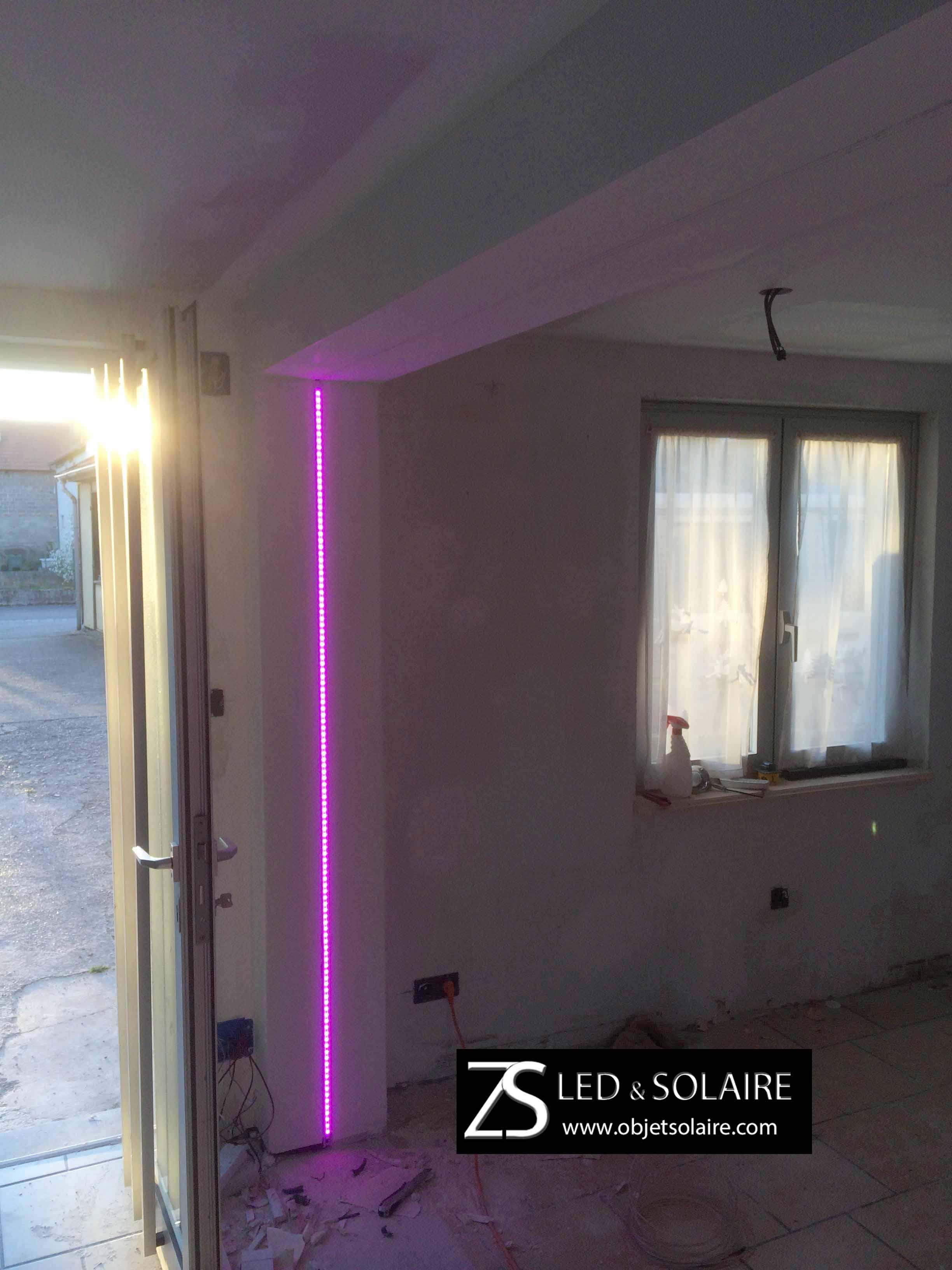 ruban led rgb qualit professionnelle epistar 24v eclairage led objetsolaire. Black Bedroom Furniture Sets. Home Design Ideas