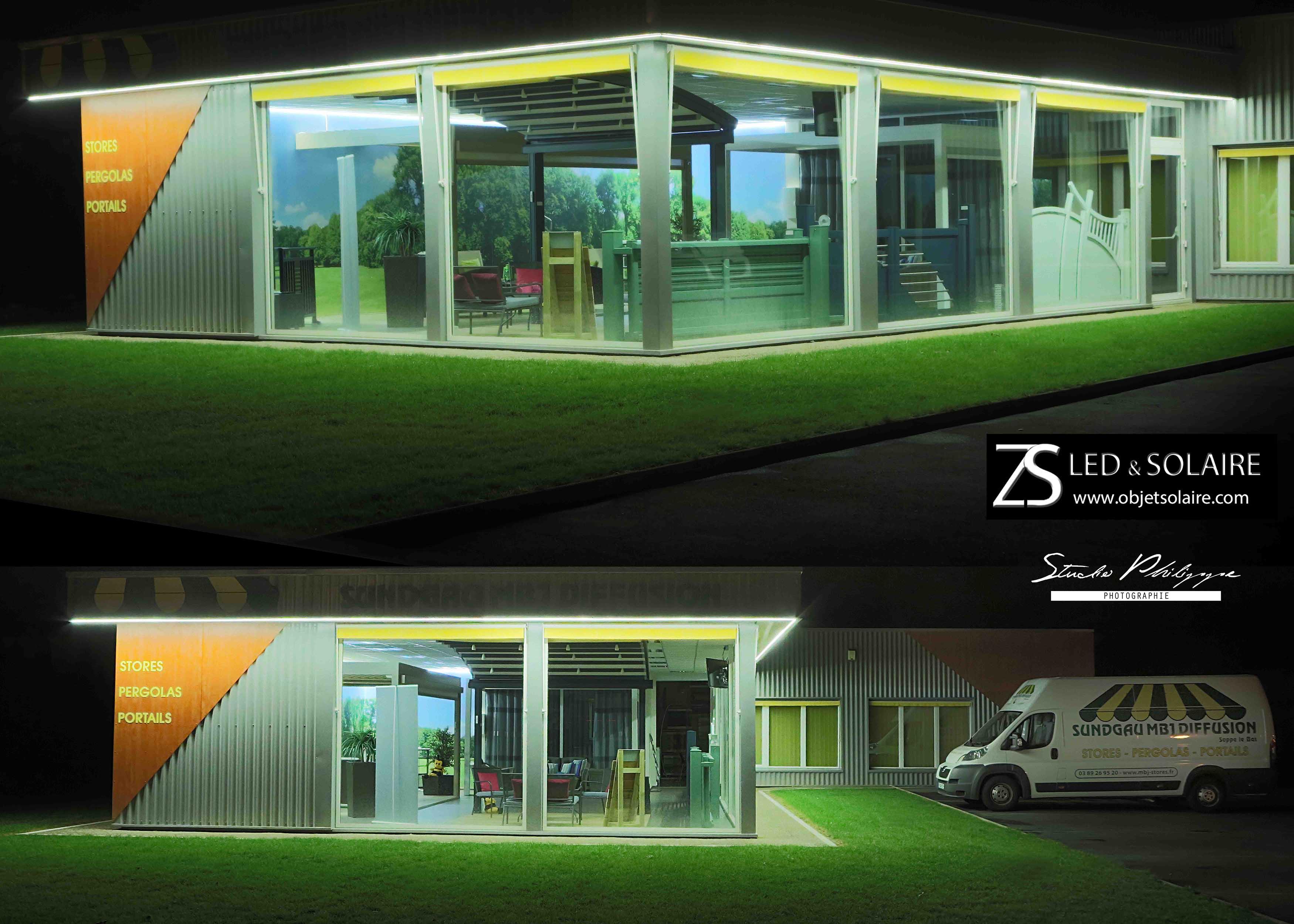 profil aluminium ruban led en u 2 m tres eclairage led objetsolaire. Black Bedroom Furniture Sets. Home Design Ideas