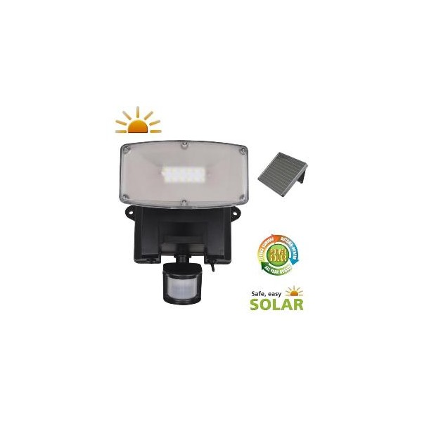 Projecteur solaire puissant 480 lumens torres eclairage solaire puissant objetsolaire - Projecteur solaire puissant ...