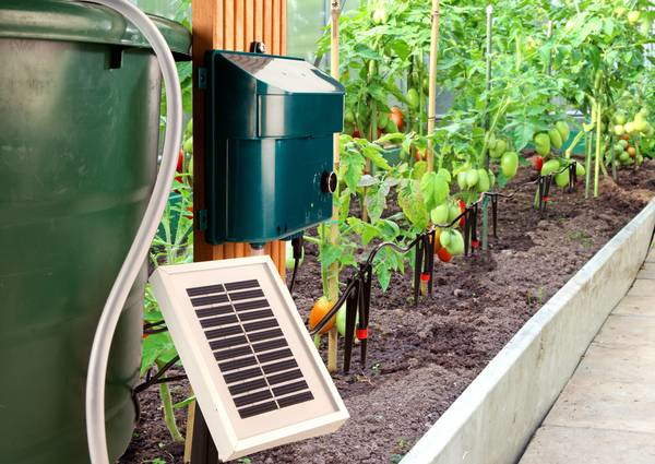 Arrosage solaire kit arrosage solaire automatique for Accessoires arrosage jardin