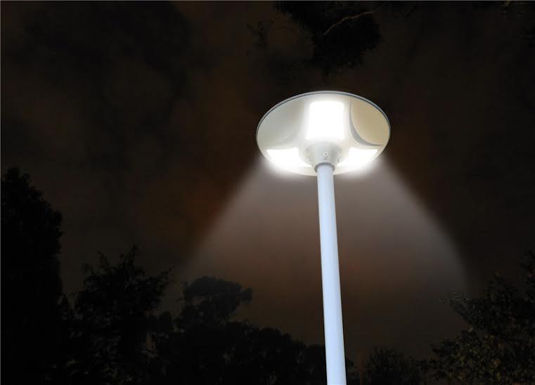 lampadaire solaire puissant 900 lumens zs sl4 lampadaire solaire objetsolaire. Black Bedroom Furniture Sets. Home Design Ideas