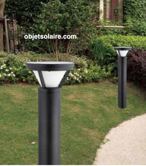 borne solaire puissante bt1 eclairage solaire puissant objetsolaire. Black Bedroom Furniture Sets. Home Design Ideas