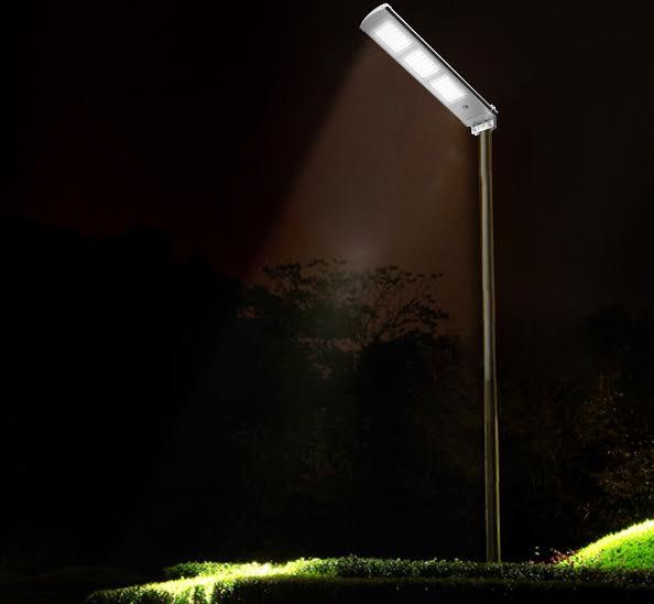 lampadaire solaire led puissant 3000 lumens led zs sl19 03 eclairage solaire puissant. Black Bedroom Furniture Sets. Home Design Ideas