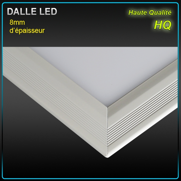 Dalle led faux plafond 60 x 60 40w 4500 k plafonniers for Suspension faux plafond