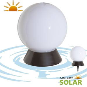 boule solaire lumineuse sans fil tanche couleurs changeantes iguazu objetsolaire. Black Bedroom Furniture Sets. Home Design Ideas