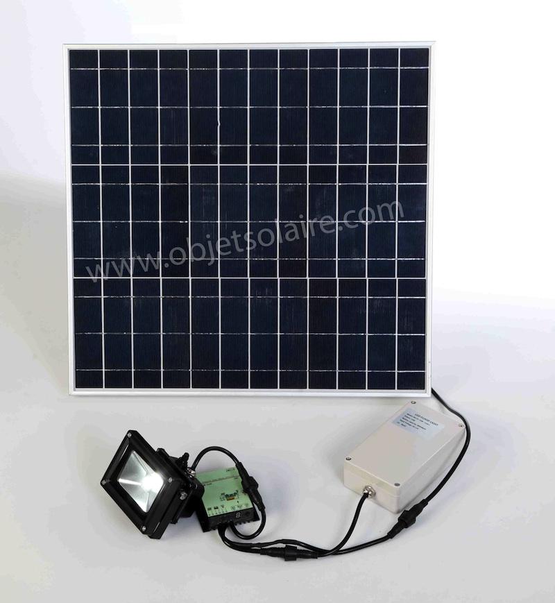 Projecteur solaire puissant 1000 lumens timer zs 210 - Projecteur solaire puissant ...