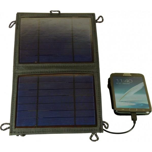 panneau solaire pliable chargeur 5w chargeur solaire nomade objetsolaire. Black Bedroom Furniture Sets. Home Design Ideas