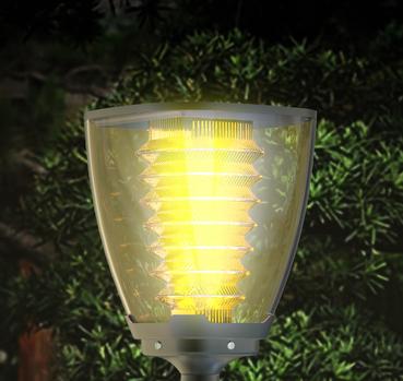 lampe solaire puissante julia2 eclairage solaire puissant objetsolaire. Black Bedroom Furniture Sets. Home Design Ideas