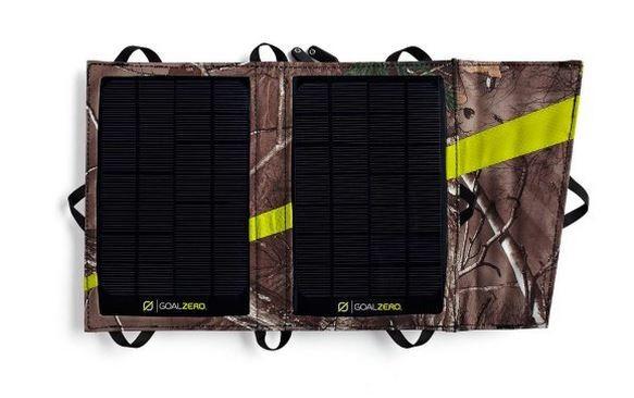 panneau solaire pliable nomad 7 camo real tree goal zero solutions compl tes goal 0 objetsolaire. Black Bedroom Furniture Sets. Home Design Ideas
