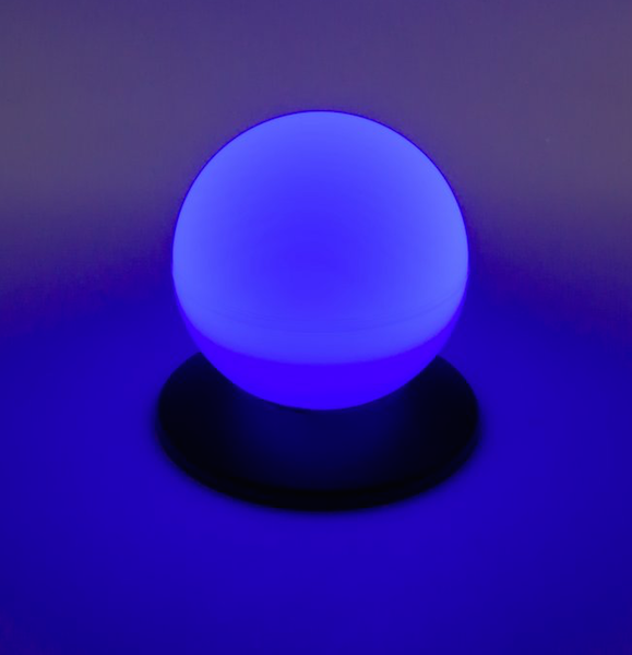 Boule solaire piscine lumineuse bleue decoration boule for Boules lumineuses piscine