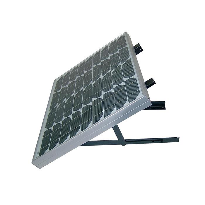 support de fixation mural r glable pour panneau solaire moins de 100 w kit panneaux solaires. Black Bedroom Furniture Sets. Home Design Ideas