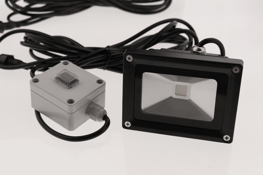 projecteur solaire puissant 1000 lumens interrupteur zs. Black Bedroom Furniture Sets. Home Design Ideas