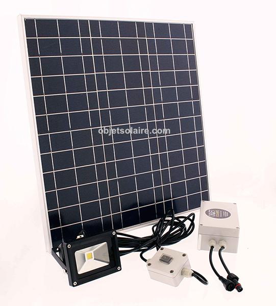 Projecteur solaire puissant 20 w led 2000 lumens zs 320 - Projecteur solaire puissant ...