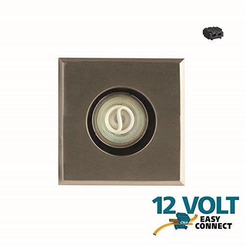 spot encastrable inox 12v sydney carr eclairage basse tension easy connect objetsolaire. Black Bedroom Furniture Sets. Home Design Ideas