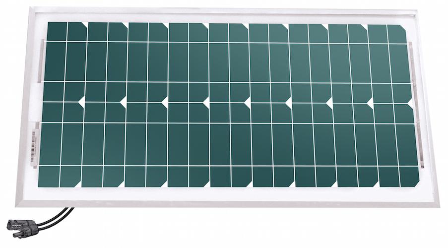 panneau solaire 20 w 24v mono unisun panneaux solaires. Black Bedroom Furniture Sets. Home Design Ideas