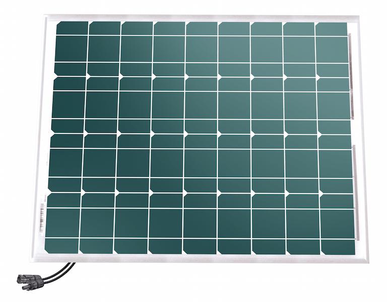 panneau solaire 50 w 12v mono unisun panneaux solaires rigides objetsolaire. Black Bedroom Furniture Sets. Home Design Ideas
