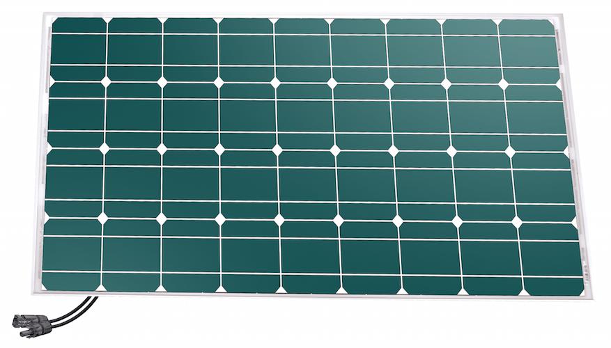 panneau solaire 145 w 12v mono unisun panneaux solaires. Black Bedroom Furniture Sets. Home Design Ideas