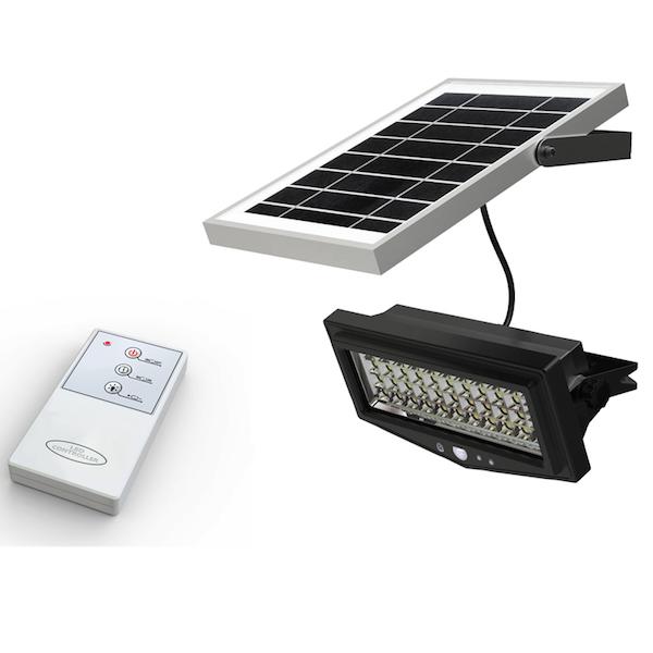 projecteur solaire puissant t l commande ip 65 1000 lumens zs ml1 t projecteurs solaires. Black Bedroom Furniture Sets. Home Design Ideas
