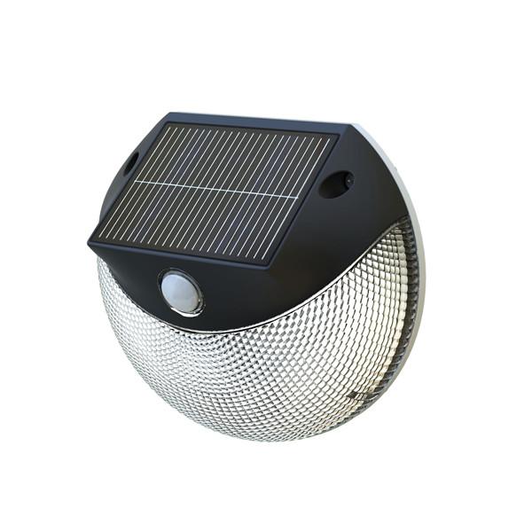 applique solaire puissante d tecteur 200 lumens laury. Black Bedroom Furniture Sets. Home Design Ideas