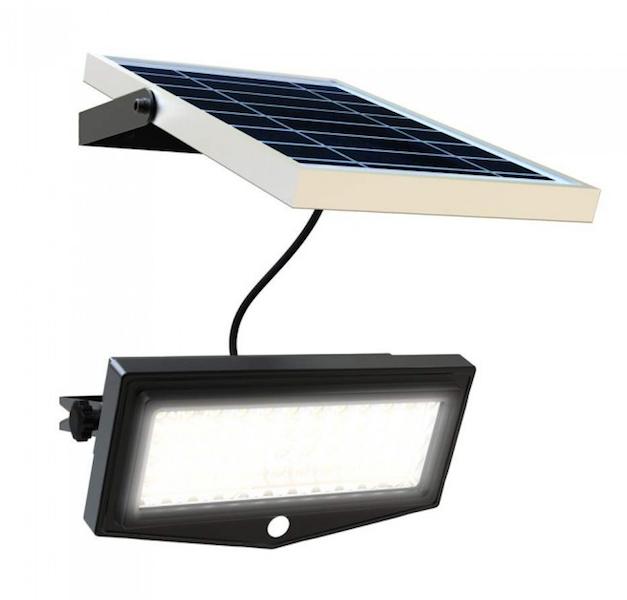 projecteur solaire puissant t l commande ip 65 1000 lumens. Black Bedroom Furniture Sets. Home Design Ideas