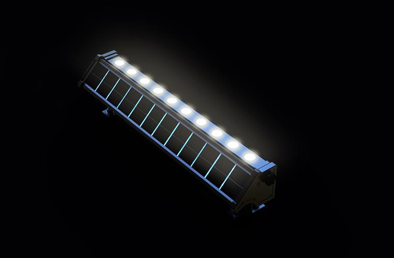 L che mur solaire led puissant 200 lumens zs l8 for Spot solaire 200 lumens