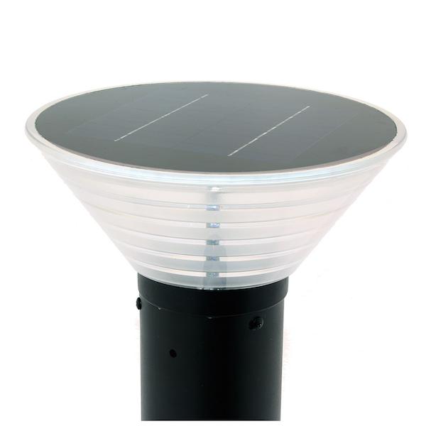 borne solaire puissante orlando 38 280 lumens eclairage solaire puissant objetsolaire. Black Bedroom Furniture Sets. Home Design Ideas