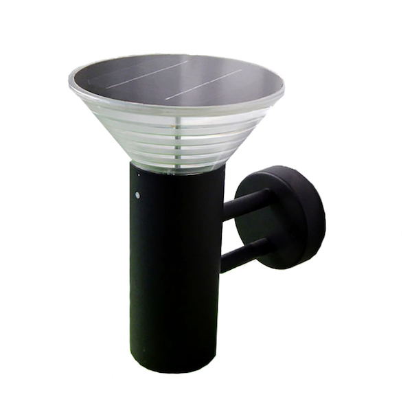 applique solaire puissante orlando 280 lumens eclairage. Black Bedroom Furniture Sets. Home Design Ideas