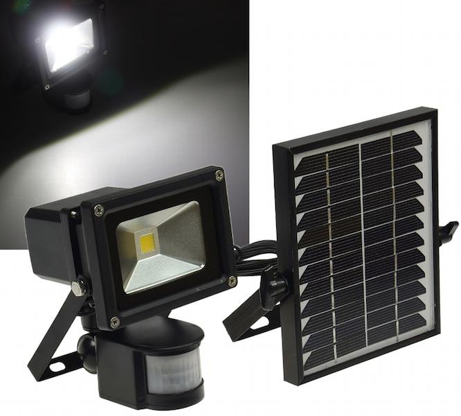 projecteur solaire puissant 10 w zs 10 1000 lumens. Black Bedroom Furniture Sets. Home Design Ideas