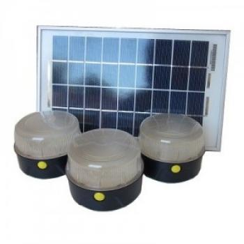 kit eclairage solaire 3 4 lampes kit eclairage solaire int rieur objetsolaire. Black Bedroom Furniture Sets. Home Design Ideas