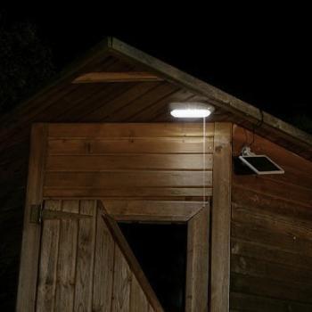 Eclairage solaire - Eclairage solaire pour cabanon | Objetsolaire
