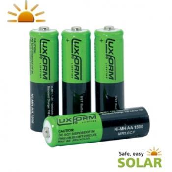 accus piles solaires rechargeables pile le eclairage solaire objetsolaire