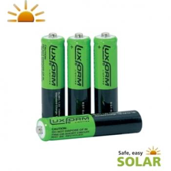 Piles rechargeables solaires Nimh AAA 800Mah 1,2V pack de 4