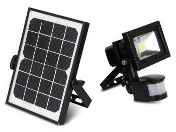 projecteur solaire d tecteur de mouvement pr sence. Black Bedroom Furniture Sets. Home Design Ideas