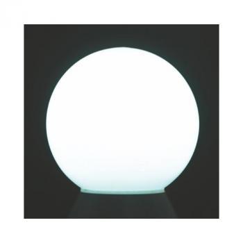 Boule Solaire Balisage Blanche Flottante BT 2 leds 250 mm IP 67