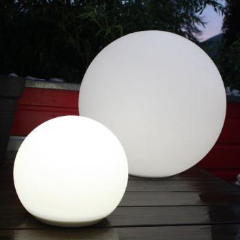 Boule Solaire Big Blanche 56 cm Lune
