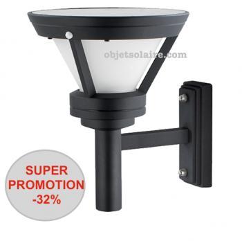 super promotion 32 sur applique solaire puissante professionnelle bt1 323 lumens objetsolaire. Black Bedroom Furniture Sets. Home Design Ideas