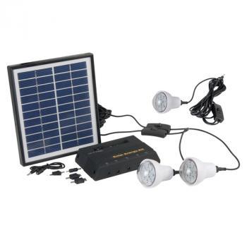 Kit d 39 eclairage solaire eclairage solaire int rieur for Eclairage interieur solaire