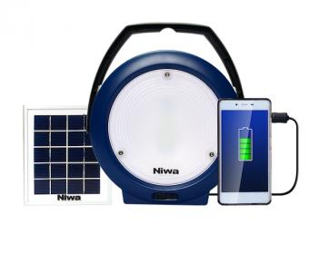 Kit Eclairage Solaire 300 Lumens Chargeur Niwa